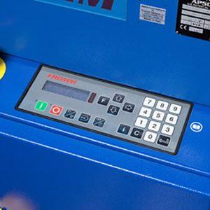 エアーパッドマシンAP502 タッチパネル