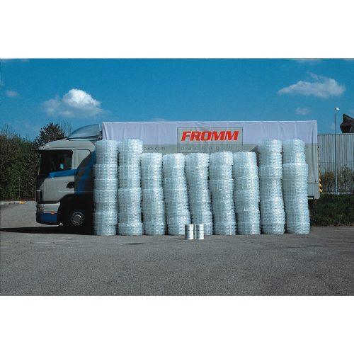 エアーパッドマシンAP502 1ロールでの梱包材作成量