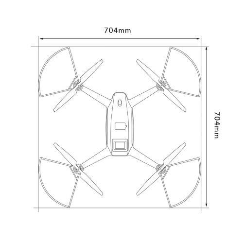 PF-Mini-Vision 建物・インフラ点検ドローン 平面図