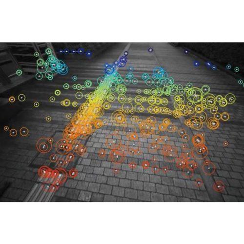 PF2-Vision 建物・インフラ点検ドローン Visual SLAMのイメージ