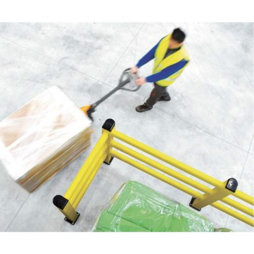 柵型ガード PED 使用イメージ