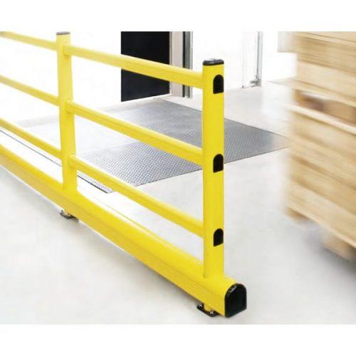 補強桟付き柵型ガード REF 使用イメージ