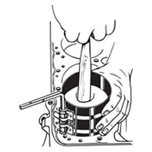 リングコンプレッサー 19500使用中のイメージイラスト