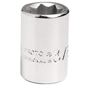 差込角3/8インチ スタンダードソケット1/2インチ8角 J5216S
