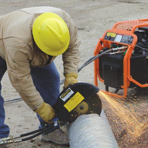 油圧パワーユニット HP12 使用イメージ