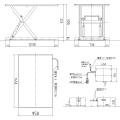フラットリフト FL-LHJ(Lサイズ) 寸法図を表示する