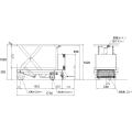 ダンディリフト 1,000kg 電動油圧式リフト台車 ML1000-02 寸法図を表示する