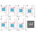 スライドレベラーシリーズのレベラー域を表示する