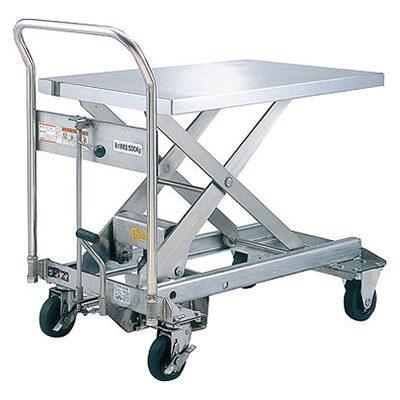 ダンディリフト ステンレス製 500kg リフト台車 SUS-500
