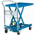 ダンディリフト スチール製 150kg リフト台車 UDL-150