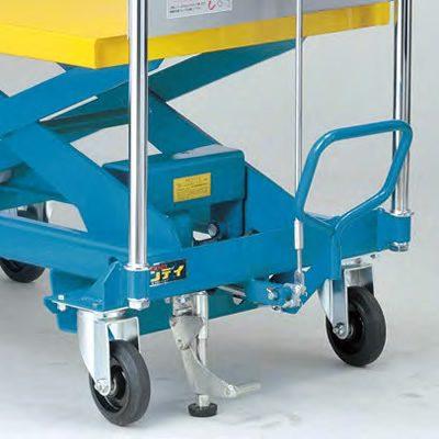 ダンディリフト スチール製 500kg リフト台車 UDA-500 フロアロック