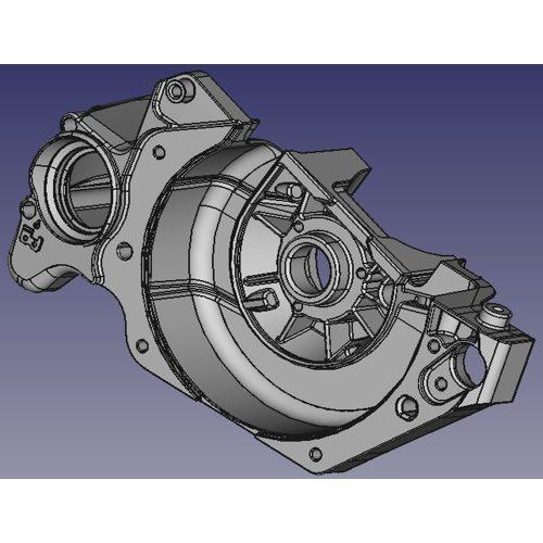 小型ガントリータイプCNCフライス盤 D4070 適合ワークイメージ1