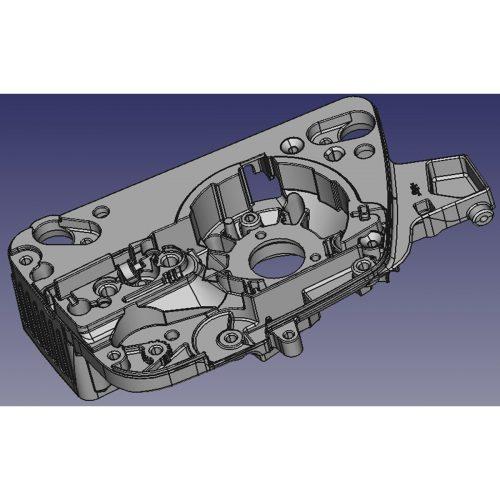小型ガントリータイプCNCフライス盤 D4070 適合ワークイメージ2