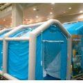 緊急災害時用テント 除染シャワーシステム DAT2626S 歩行困難者用