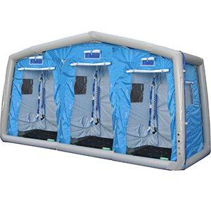 緊急災害時用テント 除染シャワーシステム DAT2999S