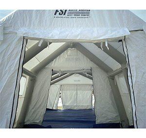 緊急災害時用テント 隔離タイプ DAT3060-IS