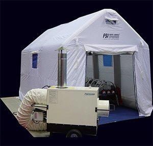 緊急災害時用テント 隔離タイプ DAT3030-IS