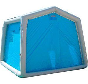 緊急災害時用テント 除染シャワーシステム DAT3030S 歩行困難者用