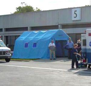 緊急災害時用テント 標準タイプ DAT3060