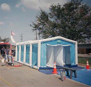 緊急災害時用テント 除染シャワーシステム DAT3060S