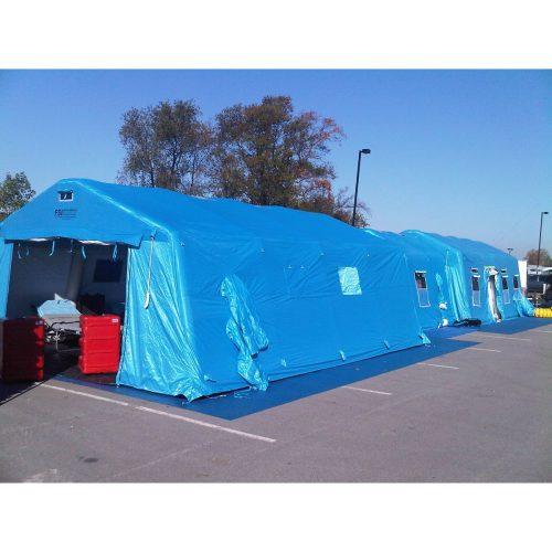 緊急災害時用テント 隔離タイプ DAT4070-IS