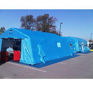 緊急災害時用テント 隔離タイプ DAT6000-IS