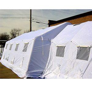 緊急災害時用テント 隔離タイプ DAT6012-IS