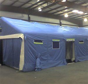 緊急災害時用テント 隔離タイプ DAT7500-IS