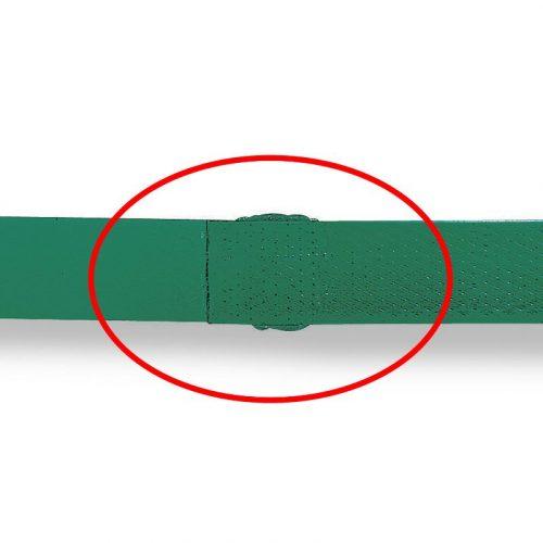 樹脂バンド用バッテリー式結束機 P329 樹脂バンド結束後のイメージ