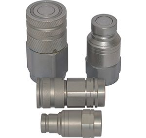 Coupler for hydraulic tool connection