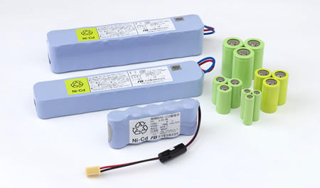 Column series battery pack image